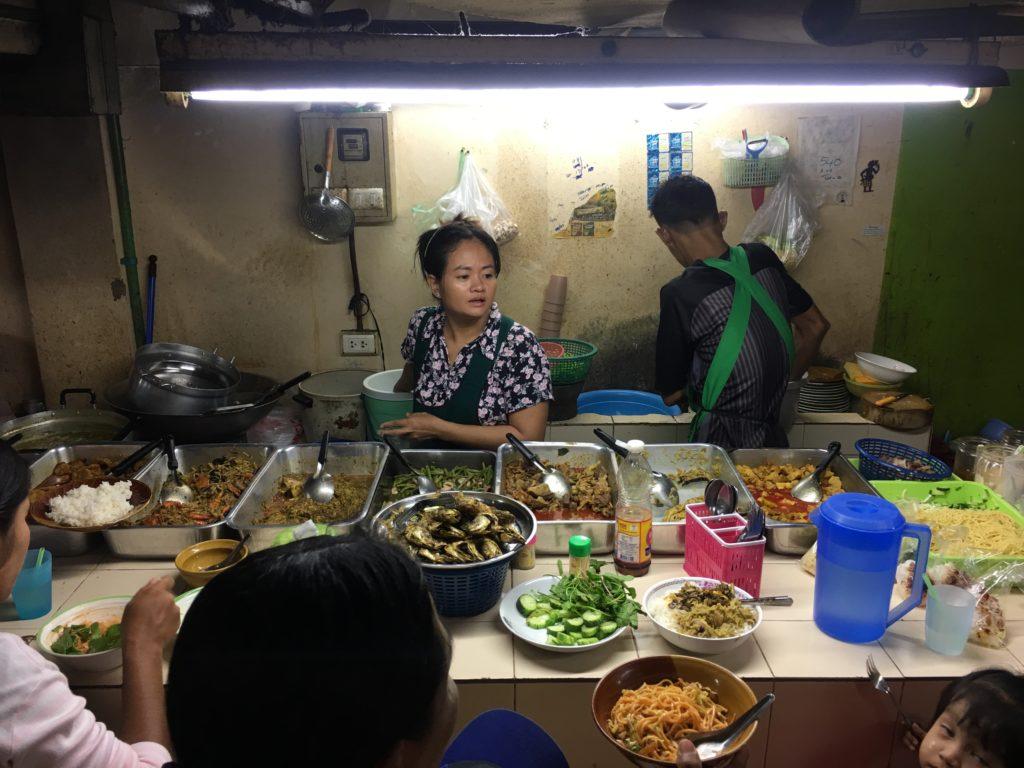 Food Corner nel merito centrale