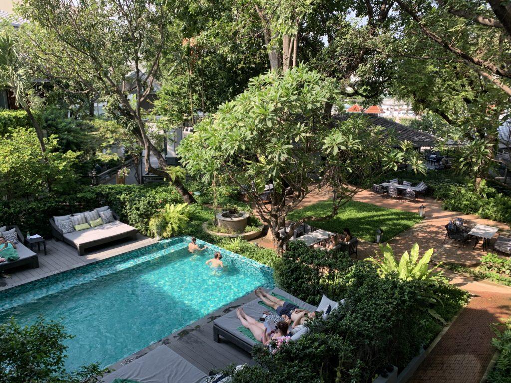 Piscina: Dove alloggiare a Bangkok: Quali zone scegliere