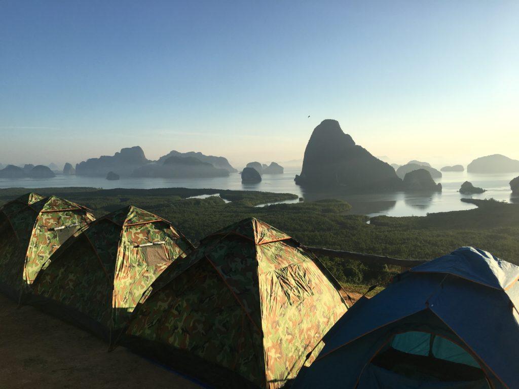 Vista sulla Baia di Phangnga