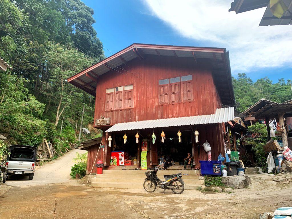 Villaggio a Chiang Mai
