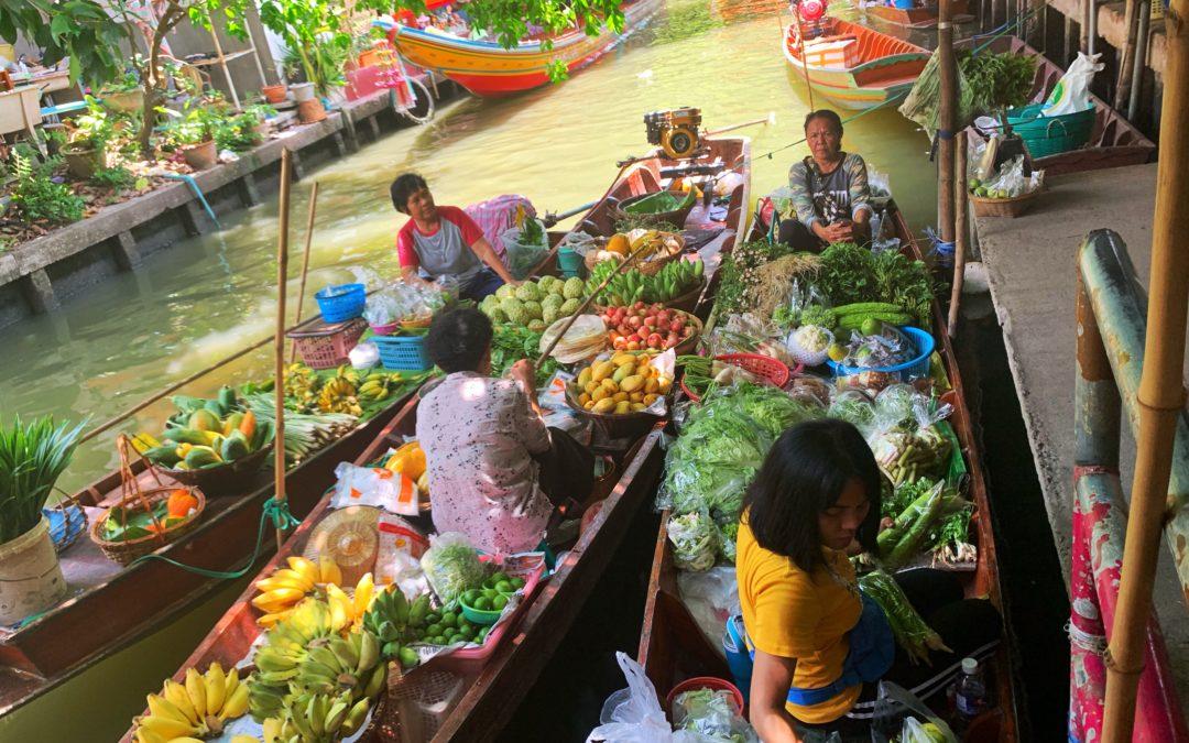 Bangkok: I Mercati galleggianti e come raggiungerli