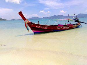 barca tipica Thailandese