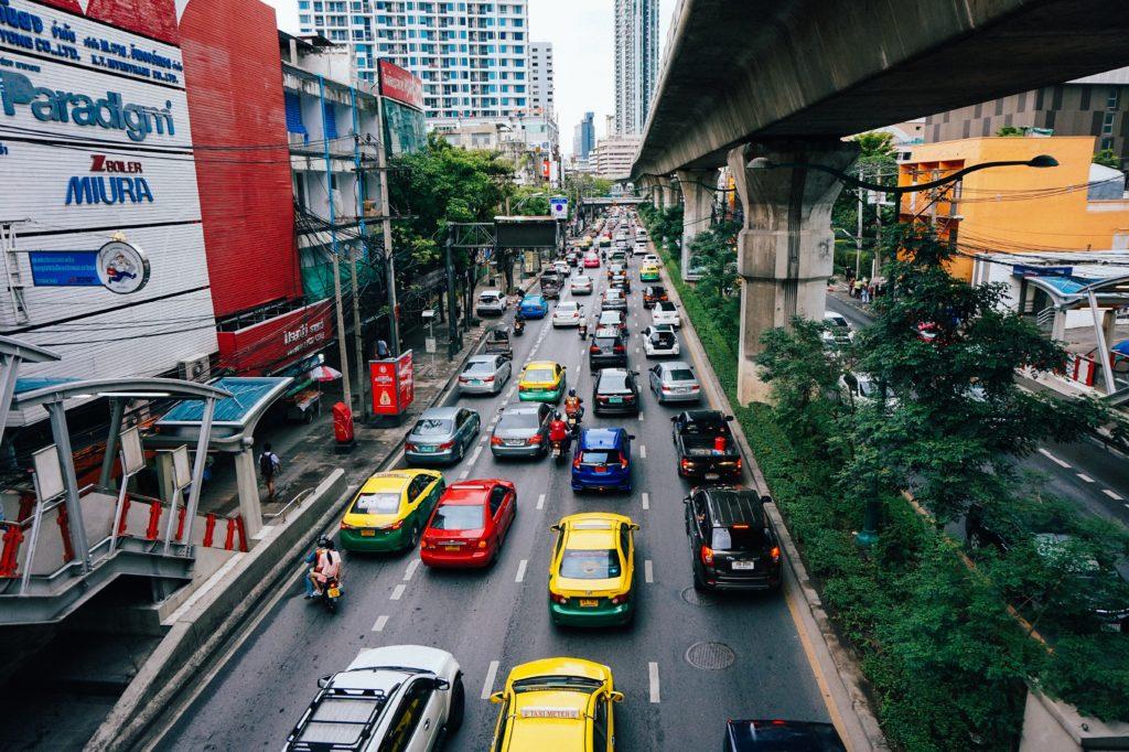 Traffico Bangkok : truffe in Thailandia