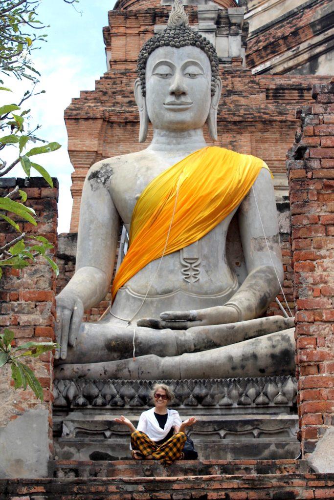 Agosto in Thailandia:Buddha, Ayuttyhaia