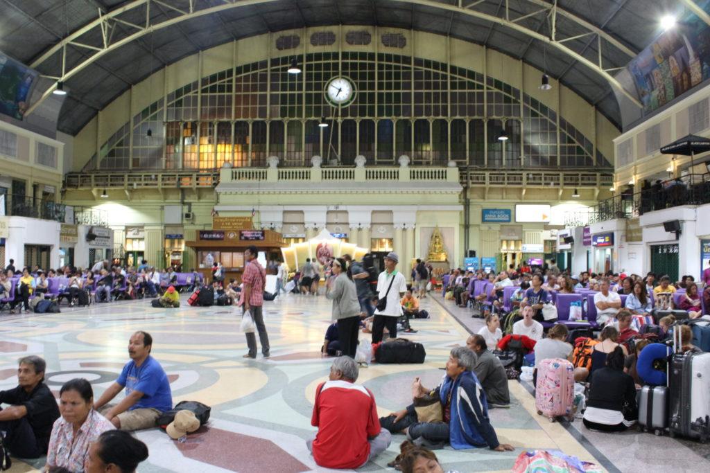 Come muoversi in Thailandia: stazione treni