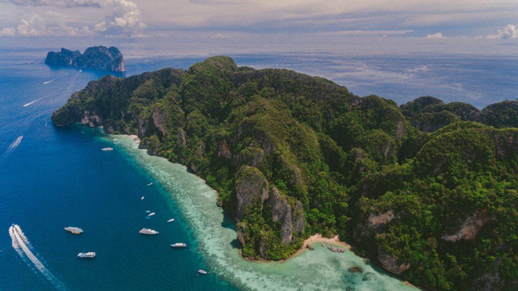 Phi Phi island: vista dall' alto