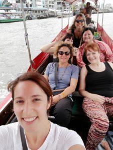 Viaggi per sole Donne: perchè li organizzo ed a chi sono rivolti: in barca a Bangkok