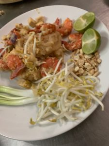 Piatto di Pad Thai