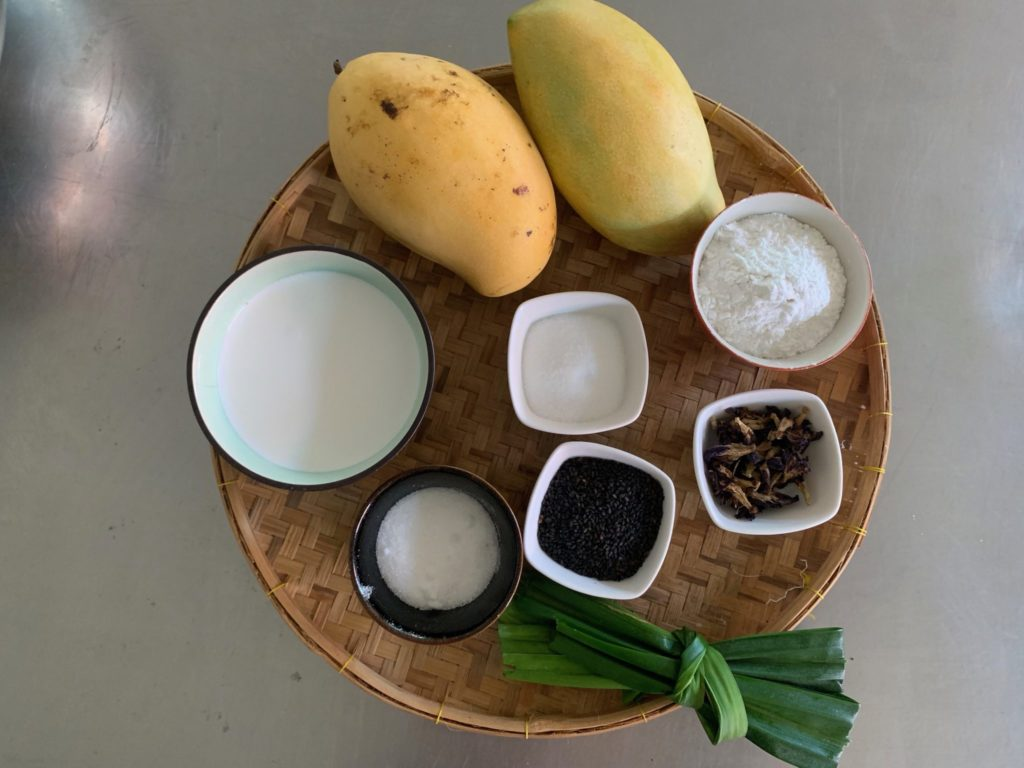 Ingredienti per il mango e sticky Rice