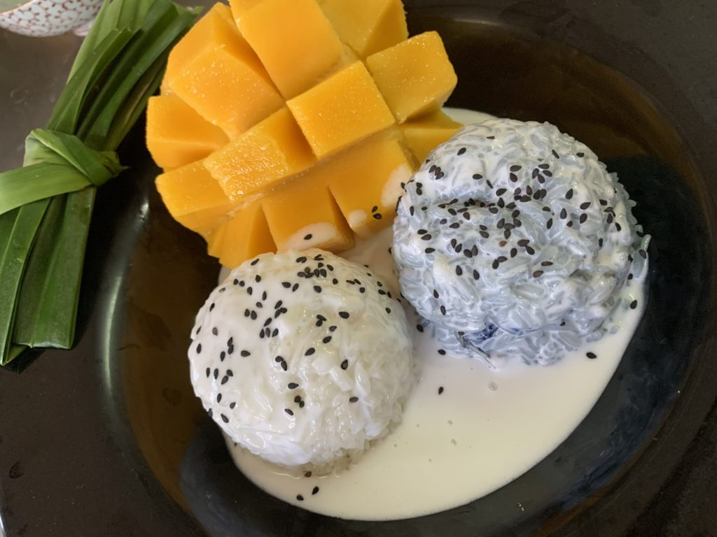 Mango e sticky Rice
