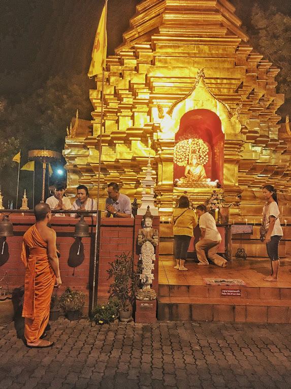 Monaci a Chiang Mai