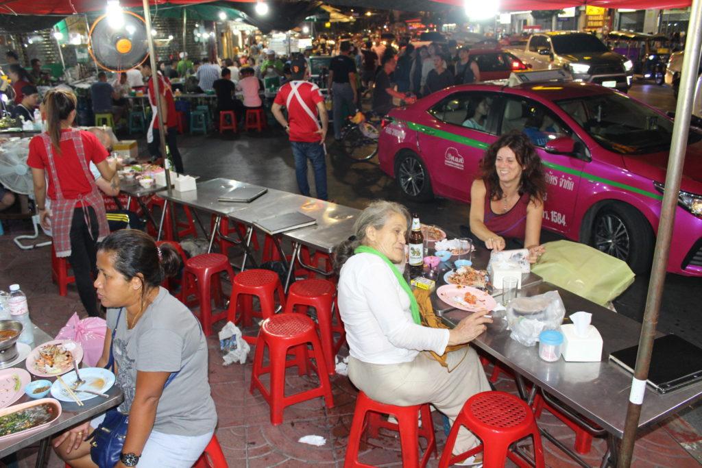ristorante per strada China Town